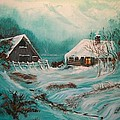 Icy Twilight by Sharon Duguay