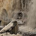 Icy Waterfall by Marleen Valdmann