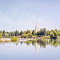 Idaho Falls Reflection by Ramona Murdock