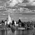 Idaho Falls Temple by Eric Tressler