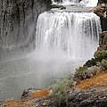 Idaho Waterfall by Lovina Wright