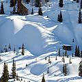 Idarado In The Winter by John Daly