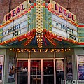 Ideal Theater In Clare Michigan by Terri Gostola