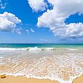 Idyllic Summer Beach Algarve Portugal by Amanda Elwell