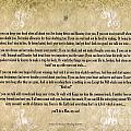 If By Rudyard Kipling Typography On Watercolor by Desiderata Gallery