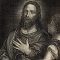 If Thou Be The Son Of God 1886 Engraving by Antique Engravings