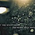 If You Never Failed by Florian Rodarte