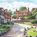 Ightam Village by Steve Crisp