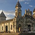 Iglesia De Guadelupe In Granada Nicaragua by Rudi Prott