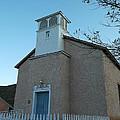 Iglesia De Jaun Batista Lincoln City New Mexico by Jeff Swan