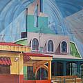 Iglesia San Rafael  Costa Rica by Jeff Seaberg