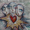 Ignite Love Number 1 by Laurie Maves ART