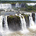 Iguacu Falls Brazilian Side by Venetia Featherstone-Witty