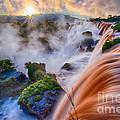 Iguazu Sunrise by Inge Johnsson