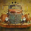 Ih Truck by Peggy Kahan