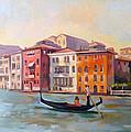 Il Gondoliere by Filip Mihail
