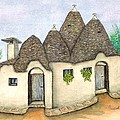Il Trullo Alberobello by Pamela Allegretto