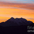 Illimani Sunrise by James Brunker
