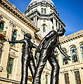 Illinois Police Officers Memorial In Springfield by Paul Velgos