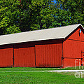 Illinois Red Barn by Luther Fine Art