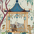 Illustration For 'fetes Galantes' by Georges Barbier
