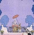 Illustration From A Book Of Fairy Tales by Georges Barbier