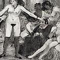 Illustration From La Maison Tellier By Guy De Maupassant  by Edgar Degas