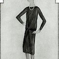 First Little Black Dress By Chanel by Bocher