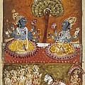Illustration Of The Bhagavata Purana by Everett