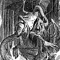 Illustration To The Poem Jabberwocky  by Celestial Images