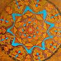 Illustrious Hue Mandala by Amy Hassan