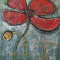 I'm Home Poppies by Laurie Maves ART