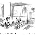 I'm Thirsty.  What Kind Of Water Does Your Mother by Donald Reilly