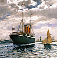 Immigrant Ship, 1893 by Granger