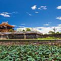 Imperial City Hue Vietnam by Fototrav Print