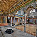 Imperial Hall Of Harem In Topkapi Palace by Ayhan Altun