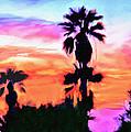 Impression Desert Sunset V2 by Bob and Nadine Johnston