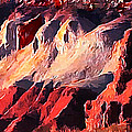 Impression Of Capitol Reef Utah At Sunset by Bob and Nadine Johnston