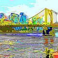 Impressionist Clemente Bridge 2 by C H Apperson