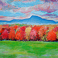 Impressionist New Jersey Autumn by Artist Anthony Renardo Flake