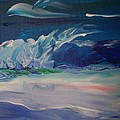 Impressionistic Abstract Wave by Eric  Schiabor
