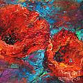 Impressionistic Red Poppies by Svetlana Novikova