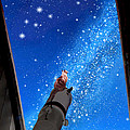 In Awe Of Andromeda And The Milky Way by Kathleen Horner