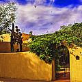 In Santa Fe - New Mexico by Madeline Ellis