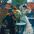 In The Bar by Ricard Canals