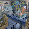 In The Barracks, 1989 by Osmund Caine
