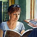 In The Book Store by Irina Sztukowski