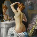 In The Boudoir by Delphin Enjolras