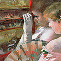 In The Box by Mary Stevenson Cassatt