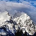 The Teton Range by Dan Sproul